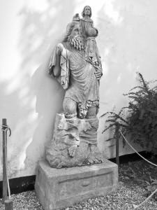 St Christopher, The Manor, Hemingford Grey, June 2013-2