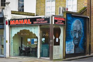 Mahal, Islington, London, January 2014