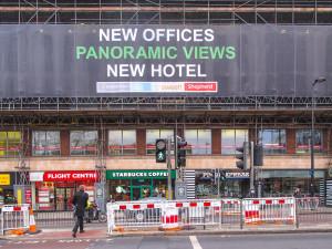 Hotel development, Euston Road, London