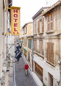 15. Room 3, Hotel le Colbert, Avignon, France, March 2011