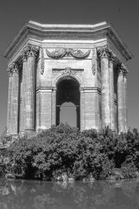 Chateau d Eau, Promenade du Peyrou, Montpellier (930627(a)-3)-2