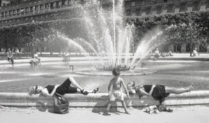 Palais Royal Fountain. Paris, Paris, May 1990
