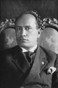 Italian Prime Minister Benito Mussolini (1883 - 1945), circa 1925. Mussolini later established a fascist dictatorship in Italy. (Photo by FPG/Archive Photos/Getty Images)
