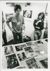 Brian Harris & Carola Rush, Cambridge Darkroom, 23rd September 1989
